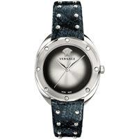Ceasuri & Bijuterii Femei Ceasuri Analogice Versace VEBM00118, Quartz, 39mm, 5ATM Argintiu