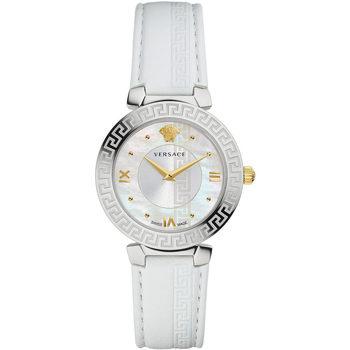 Ceasuri & Bijuterii Femei Ceasuri Analogice Versace V16010017, Quartz, 35mm, 3ATM Argintiu