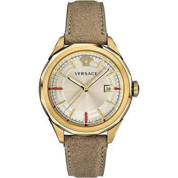 Ceasuri & Bijuterii Bărbați Ceasuri Analogice Versace VERA00318, Quartz, 44mm, 5ATM Auriu