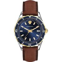 Ceasuri & Bijuterii Bărbați Ceasuri Analogice Versace VE3A00420, Quartz, 42mm, 5ATM Argintiu