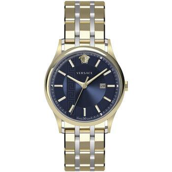 Ceasuri & Bijuterii Bărbați Ceasuri Analogice Versace VE4A00720, Quartz, 44mm, 5ATM Auriu