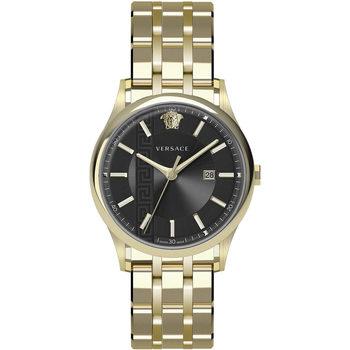 Ceasuri & Bijuterii Bărbați Ceasuri Analogice Versace VE4A00820, Quartz, 44mm, 5ATM Auriu