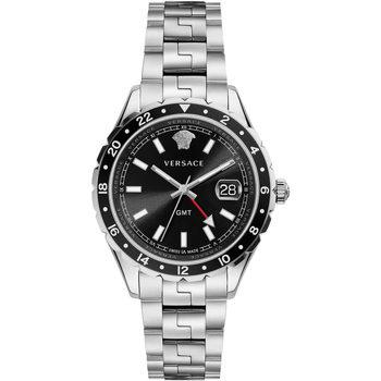 Ceasuri & Bijuterii Bărbați Ceasuri Analogice Versace V11100017, Quartz, 42mm, 5ATM Argintiu
