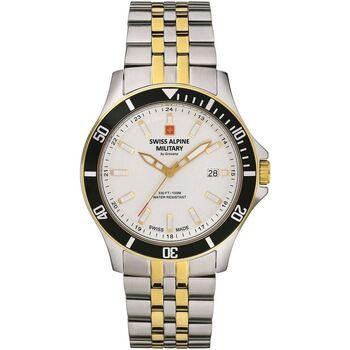 Ceasuri & Bijuterii Bărbați Ceasuri Analogice Swiss Alpine Military 7022.1142, Quartz, 42mm, 10ATM Argintiu