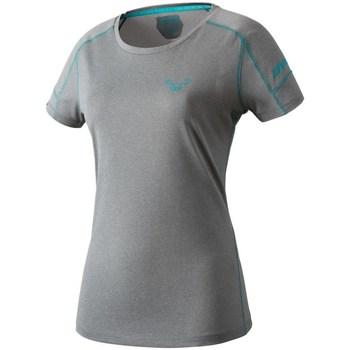 Îmbracaminte Femei Tricouri mânecă scurtă Dynafit Transalper W SS Tee Gri