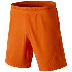 Îmbracaminte Bărbați Pantaloni trei sferturi Dynafit React 2 Dst M Portocalie