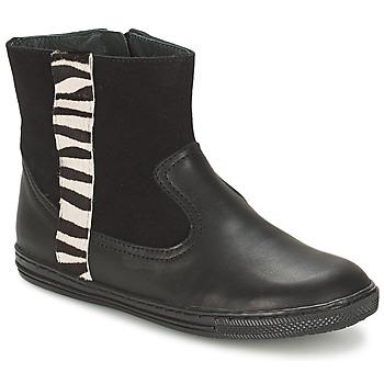 Pantofi Fete Ghete Citrouille et Compagnie ELLIA Negru