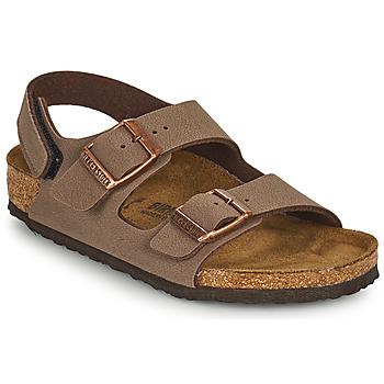 Pantofi Băieți Sandale  Birkenstock MILANO HL Maro