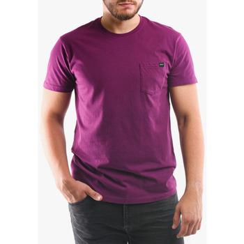 Îmbracaminte Bărbați Tricouri & Tricouri Polo Edwin T-shirt avec poche violet