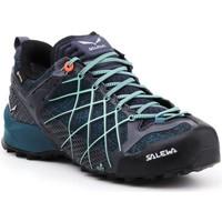 Pantofi Femei Drumetie și trekking Salewa Buty trekkingowe  Wildfire GTX 63488-3838 navy , blue, black