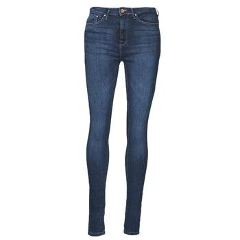 Îmbracaminte Femei Jeans slim Only ONLPAOLA Albastru / Culoare închisă