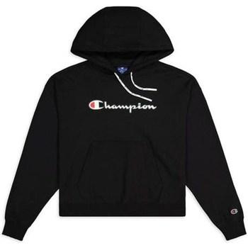 Îmbracaminte Femei Hanorace  Champion Hooded Sweatshirt Nbk Negre
