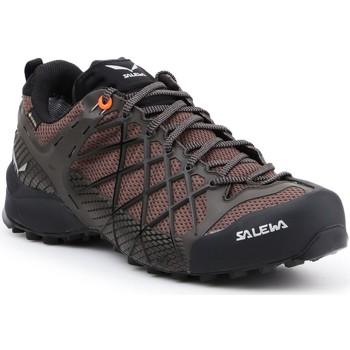 Pantofi Bărbați Drumetie și trekking Salewa MS Wildfire GTX 63487-7623 brown, black