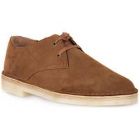 Pantofi Bărbați Pantofi Derby Clarks DESERT KHAN COLA Grigio
