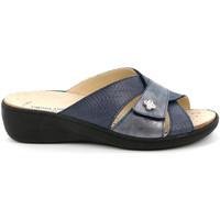 Pantofi Femei Papuci de vară Grunland CE0700 Albastru