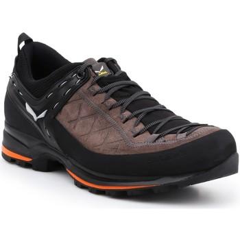 Pantofi Bărbați Drumetie și trekking Salewa MS MTN Trainer 2 61371-7512 brown, black