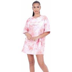 Îmbracaminte Femei Rochii scurte Sixth June Robe femme  Tie and dye rose