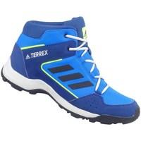 Pantofi Copii Drumetie și trekking adidas Originals Terrex Hyperhiker K Alb, Albastre