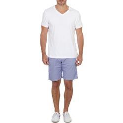 Îmbracaminte Bărbați Pantaloni scurti și Bermuda Franklin & Marshall GAWLER Albastru / Bej