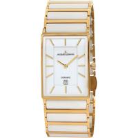 Ceasuri & Bijuterii Bărbați Ceasuri Analogice Jacques Lemans 1-1593F, Quartz, 32mm, 5ATM Auriu