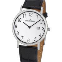 Ceasuri & Bijuterii Bărbați Ceasuri Analogice Jacques Lemans 1-1848B, Quartz, 39mm, 5ATM Argintiu
