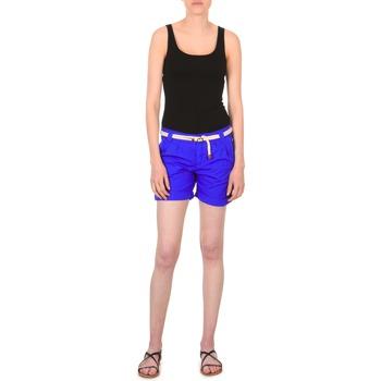 Îmbracaminte Femei Pantaloni scurti și Bermuda Franklin & Marshall CALOUNDRA Albastru