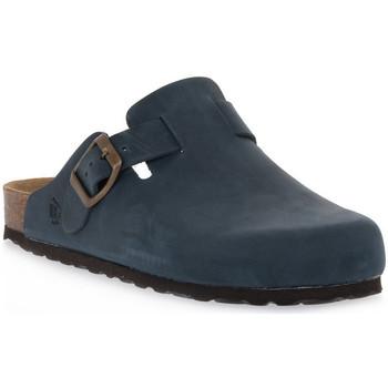 Pantofi Saboti Bioline 1900 BLU INGRASSATO Blu