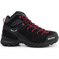 Pantofi Femei Drumetie și trekking Salewa WS Alp Mate Mid WP Negre