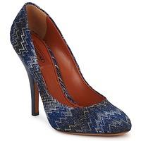 Încăltăminte Femei Pantofi cu toc Missoni VM005 Albastru