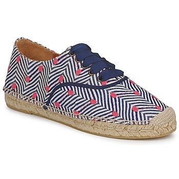 Pantofi Femei Espadrile Missoni VM045 Albastru / Roz
