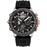 Ceasuri & Bijuterii Bărbați Ceasuri Analogice Police PL16018JSTU.13P, Quartz, 48mm, 10ATM Argintiu