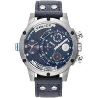 Ceasuri & Bijuterii Bărbați Ceasuri Analogice Police PL15983JS.03, Quartz, 50mm, 5ATM Argintiu