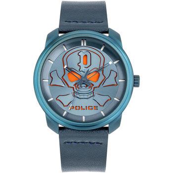 Ceasuri & Bijuterii Bărbați Ceasuri Analogice Police PL15714JSBL.03, Quartz, 44mm, 3ATM albastru