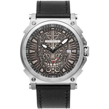 Ceasuri & Bijuterii Bărbați Ceasuri Analogice Police PL15728JS.61, Quartz, 48mm, 3ATM Argintiu