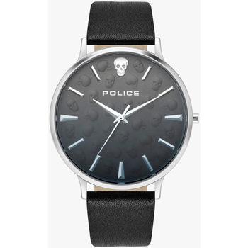 Ceasuri & Bijuterii Bărbați Ceasuri Analogice Police PL16023JS.02, Quartz, 42mm, 3ATM Argintiu