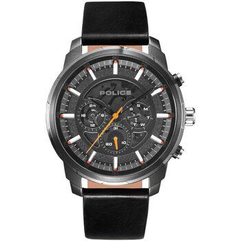 Ceasuri & Bijuterii Bărbați Ceasuri Analogice Police PL15656JSU.02, Quartz, 50mm, 5ATM Argintiu