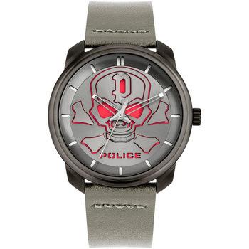 Ceasuri & Bijuterii Bărbați Ceasuri Analogice Police PL15714JSU.61, Quartz, 44mm, 3ATM Gri