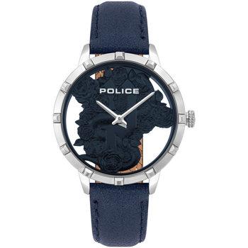 Ceasuri & Bijuterii Femei Ceasuri Analogice Police PL16041MS.03, Quartz, 36mm, 3ATM Argintiu