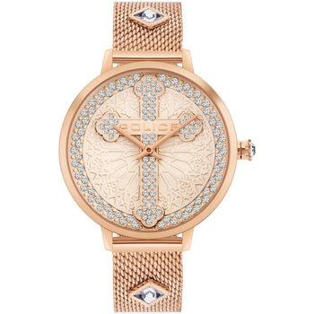 Ceasuri & Bijuterii Bărbați Ceasuri Analogice Police PL16031MSR.32MMA, Quartz, 36mm, 3ATM Auriu