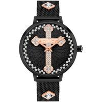 Ceasuri & Bijuterii Bărbați Ceasuri Analogice Police PL16031MSB.02MMA, Quartz, 36mm, 3ATM Negru