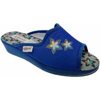 Pantofi Femei Papuci de vară Cristina CRI47avio blu