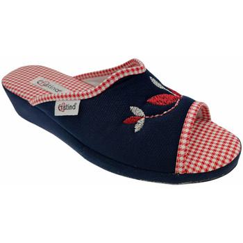 Pantofi Femei Papuci de vară Cristina CRI51blu blu