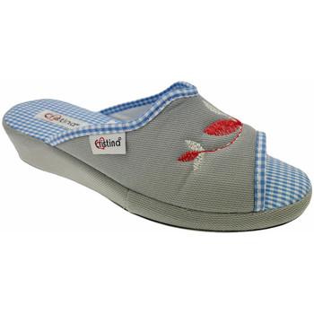 Pantofi Femei Papuci de vară Cristina CRI51gri grigio