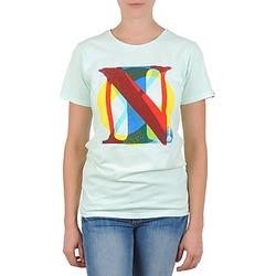Îmbracaminte Femei Tricouri mânecă scurtă Nixon PACIFIC Verde