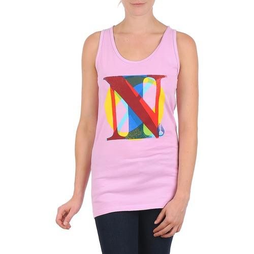 Îmbracaminte Femei Maiouri și Tricouri fără mânecă Nixon PACIFIC TANK Roz / Multicolor