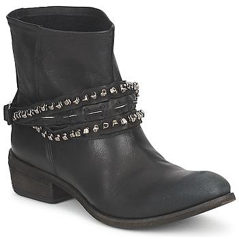 Pantofi Femei Ghete Strategia GRONI Negru
