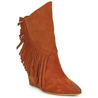 Pantofi Femei Botine Strategia FRANGIO Maro
