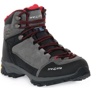 Pantofi Bărbați Drumetie și trekking Trezeta ARGO WP GREY RED Grigio