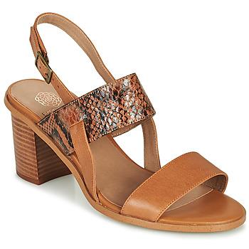 Pantofi Femei Sandale  Karston LIMEY Camel