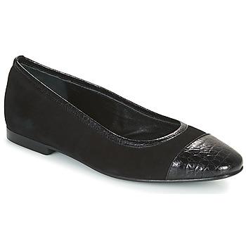 Pantofi Femei Balerin și Balerini cu curea JB Martin SUCCES Negru